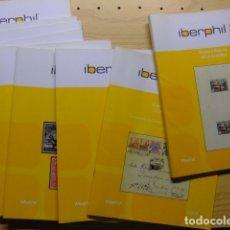 Sellos: CATALOGOS DE SUBASTAS DE SELLOS - IBERPHIL. Lote 178383421