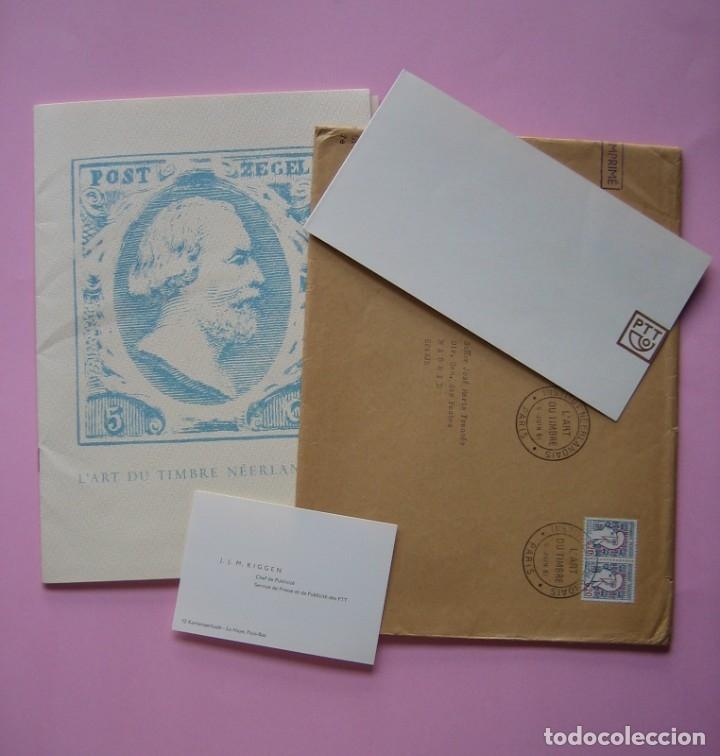 FILATELIA - LIBRO FOLLETO - EL ARTE DEL SELLO HOLANDES - AÑO 1961 - RARO CONJUNTO - VER DESCRIPCIÓN (Filatelia - Sellos - Catálogos y Libros)