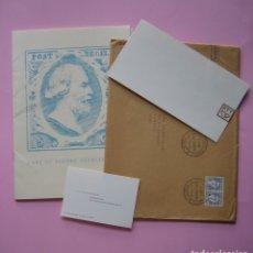 Sellos: FILATELIA - LIBRO FOLLETO - EL ARTE DEL SELLO HOLANDES - AÑO 1961 - RARO CONJUNTO - VER DESCRIPCIÓN. Lote 178690720