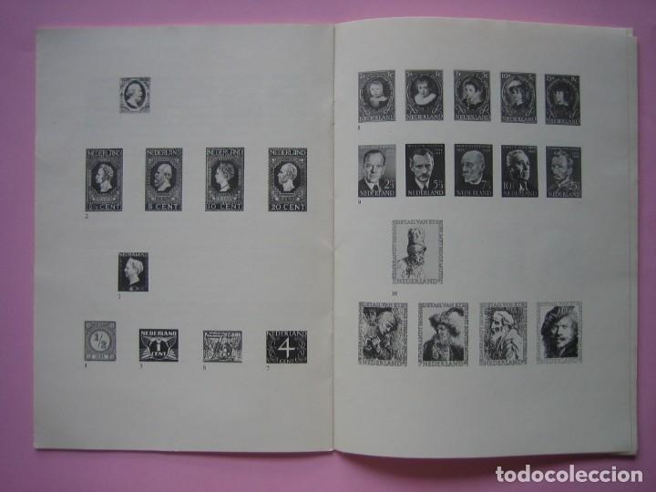 Sellos: FILATELIA - LIBRO FOLLETO - EL ARTE DEL SELLO HOLANDES - AÑO 1961 - RARO CONJUNTO - VER DESCRIPCIÓN - Foto 3 - 178690720