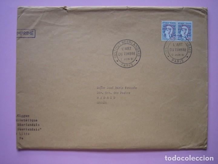 Sellos: FILATELIA - LIBRO FOLLETO - EL ARTE DEL SELLO HOLANDES - AÑO 1961 - RARO CONJUNTO - VER DESCRIPCIÓN - Foto 6 - 178690720