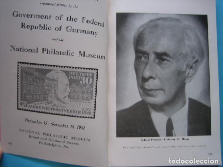 Sellos: MUSEO FILATELICO NACIONAL DE FILADELFIA Nº 3 1952 MONOGRAFICO HISTORIA CORREO ALEMANIA 175 p. FOTOS - Foto 4 - 178687292