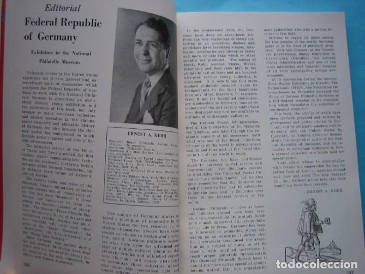 Sellos: MUSEO FILATELICO NACIONAL DE FILADELFIA Nº 3 1952 MONOGRAFICO HISTORIA CORREO ALEMANIA 175 p. FOTOS - Foto 5 - 178687292