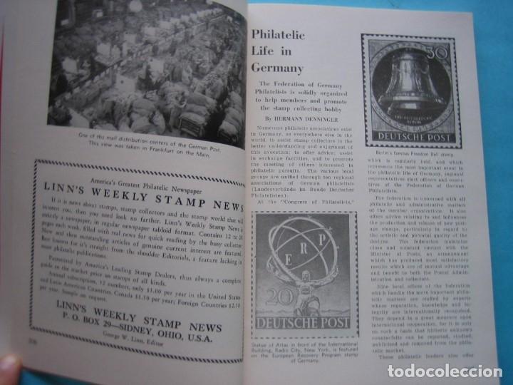 Sellos: MUSEO FILATELICO NACIONAL DE FILADELFIA Nº 3 1952 MONOGRAFICO HISTORIA CORREO ALEMANIA 175 p. FOTOS - Foto 9 - 178687292