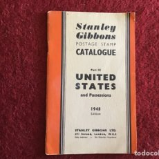 Sellos: STANLEY GIBBONS CATÁLOGO DE SELLOS UNITED STATES PART III. 1948. Lote 178777996