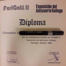 Sellos: DIPLOMA DE FILATELIA. Lote 179193887