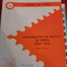 Francobolli: FESOFI N 6 EMISIONES DE FRANCISCO FRANCO 1939..1954 FRANCISCO ARACIL. Lote 180125161