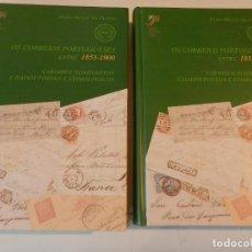 Sellos: OS CORREIOS PORTUGUESES ENTRE 1853-1900 /... CARIMBOS NOMINATIVOS... / PEDRO MARÇAL VAZ PEREIRA 2005. Lote 180162036