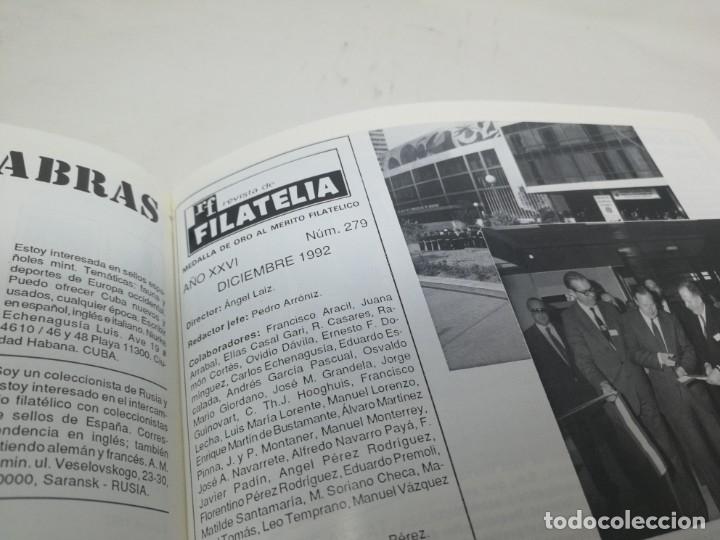 Sellos: Revista filatelia. Edifil. Año 1992. Encuadernado. Laminas - Foto 5 - 180187880
