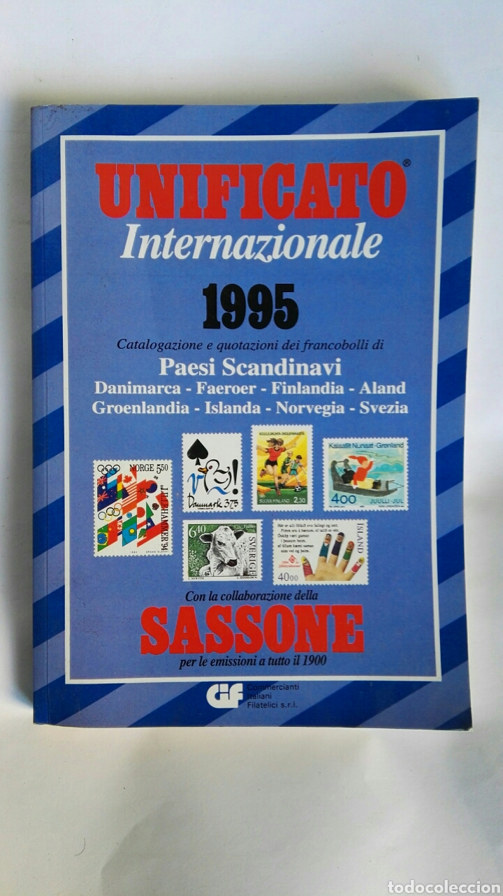 UNIFICATO INTERNAZIONALE PAESI SCANDINAVI 1995 CATALOGO SELLOS ESCANDINAVOS (Filatelia - Sellos - Catálogos y Libros)