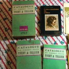 Sellos: LIBROS ANTIGUOS FILATELIA. Lote 181423882