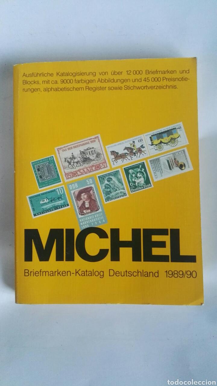 CATALOGO SELLOS MICHEL 1989/90 (Filatelia - Sellos - Catálogos y Libros)