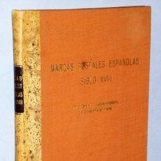 Sellos: MARQUES POSTALES ESPAGNOLES DU XVIII SIÈCLE (MARCAS POSTALES ESPAÑOLAS DEL SIGLO XVIII). Lote 181846247