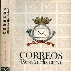 Sellos: ESPAÑA 1968. CORREOS (RESEÑA HISTÓRICA) - RAMÓN ARGELICH. Lote 182164333