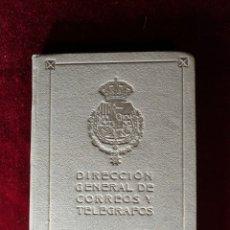 Francobolli: RARO CATALOGO DE LOS SELLOS DE CORREOS Y TELEGRAFOS DE ESPAÑA Y COLONIAS 1920 DIRECCION GENERAL. Lote 182992996