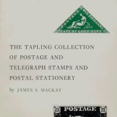 Sellos: BIBLIOGRAFÍA MUNDIAL. 1964. THE TAPLING COLLECTION OF POSTAGE AND TELEGRAPH STAMPS AND POSTAL STATI. Lote 183161292