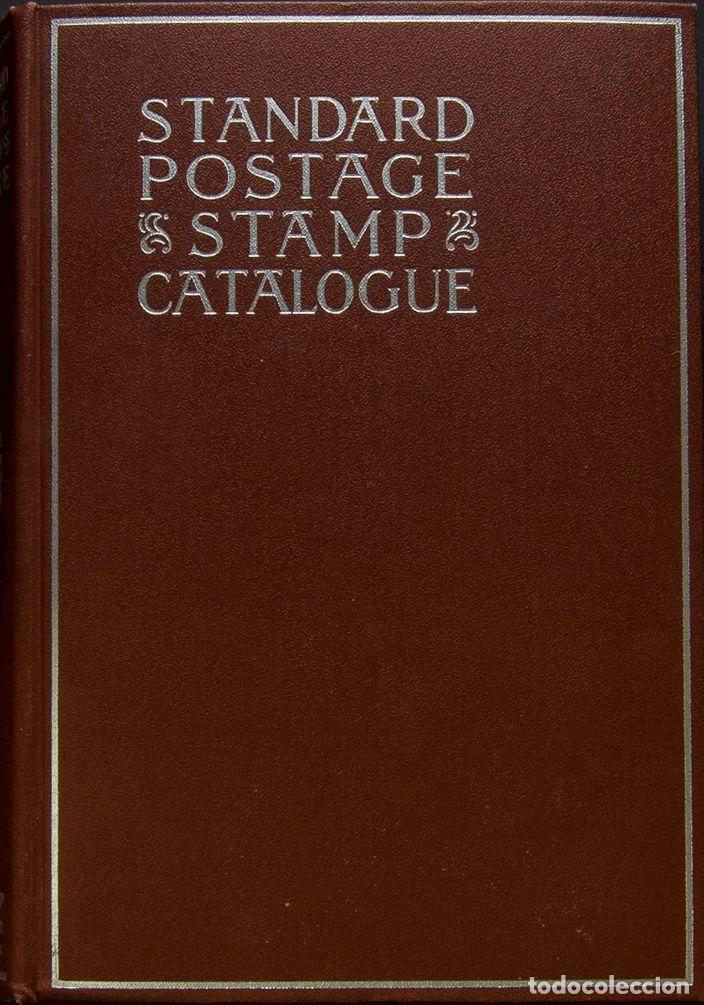BIBLIOGRAFÍA MUNDIAL. (1980CA). REIMPRESIÓN DEL CATÁLOGO STANDARD POSTAGE STAMP CATALOGUE. SCOTT ST (Filatelia - Sellos - Catálogos y Libros)