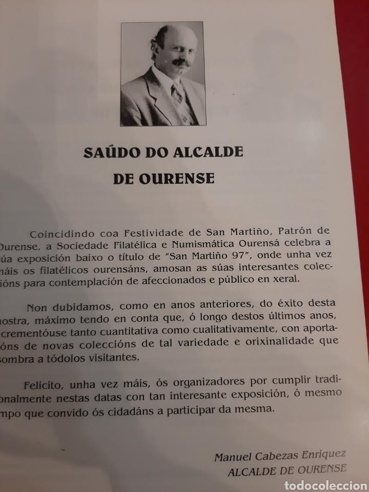 Sellos: 1997 Orense Exposición Filatélica catálogo - Foto 4 - 183179617