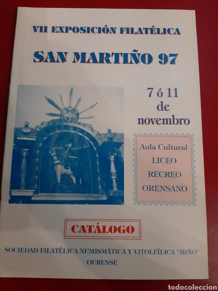 1997 ORENSE EXPOSICIÓN FILATÉLICA CATÁLOGO (Filatelia - Sellos - Catálogos y Libros)