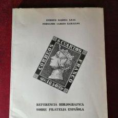 Sellos: REFERENCIA BIBLIOGRAFICA SOBRE FILATELIA ESPAÑOLA - FILATELIA SELLO. Lote 183636136