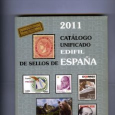 Sellos: CATALOGO UNIFICADO EDIFIL DE SELLOS DE ESPAÑA-AÑO 2011 .. Lote 183719777