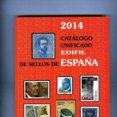 Sellos: CATALOGO UNIFICADO EDIFIL DE SELLOS DE ESPAÑA-AÑO 2015 .. Lote 183720711