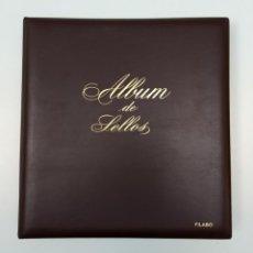Sellos: ÁLBUM SELLOS DE ESPAÑA FILABO, 1970-1980, 72 HOJAS EDIFIL. Lote 184911831