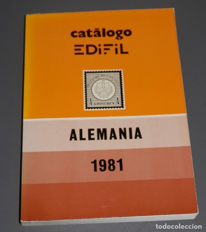 CATALOGO EDIFIL ALEMANIA 1981 (Filatelia - Sellos - Catálogos y Libros)