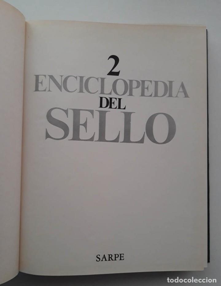 Sellos: Enciclopedia del Sello Sarpe Tomo 2 - Foto 2 - 186272431