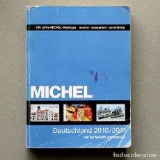 Sellos: CATALOGO MICHEL SELLOS DE ALEMANIA 2010-2011 (EN ALEMÁN) CON CD. Lote 187323791