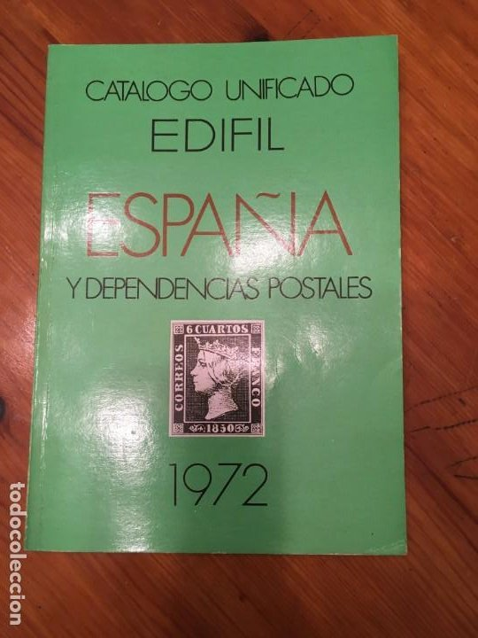CATALOGO EDIFIL DE 1972 (Filatelia - Sellos - Catálogos y Libros)