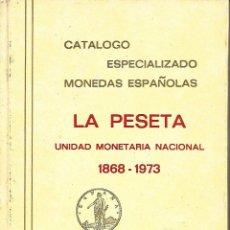 Sellos: CATALOGO ESPECIALIZADO DE LA PESETA PERFECTO ESTADO. Lote 189577793