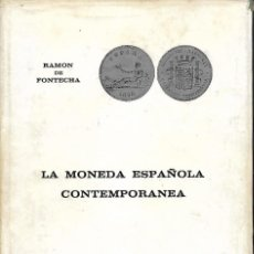Sellos: CATALOGO LA MONEDA ESPÀÑOLA CONTENPORANEA. Lote 189578011