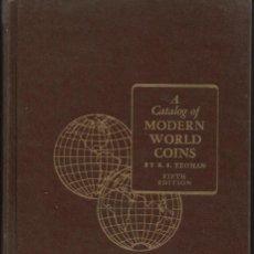 Sellos: CATALOGO MUNDIAL DE MONEDAS WORLD COINS. Lote 189579010