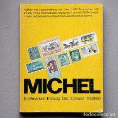 Sellos: CATALOGO DE SELLOS MICHEL ~ ALEMANIA 1989/90 (ALEMÁN). Lote 189619068
