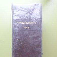 Sellos: TIMBRES-POSTE 1948 LIBRO CATÁLOGO MUNDIAL DE SELLOS YVERT Y TELLIER ED THEODORE CHAMPION. Lote 189813940