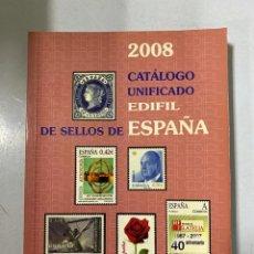 Sellos: CATÁLOGO UNIFICADO DE SELLOS. EDIFIL ESPAÑA 2008. MADRID, 2007. PAGS: 303. Lote 191038143