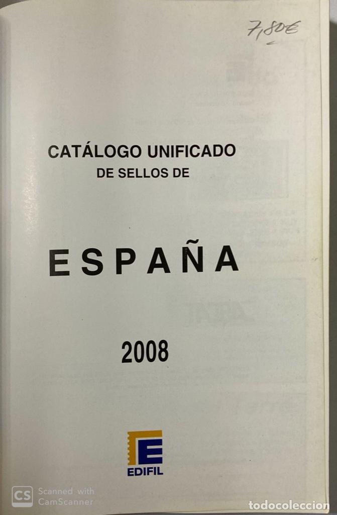Sellos: CATÁLOGO UNIFICADO DE SELLOS. EDIFIL ESPAÑA 2008. MADRID, 2007. PAGS: 303 - Foto 3 - 191038143
