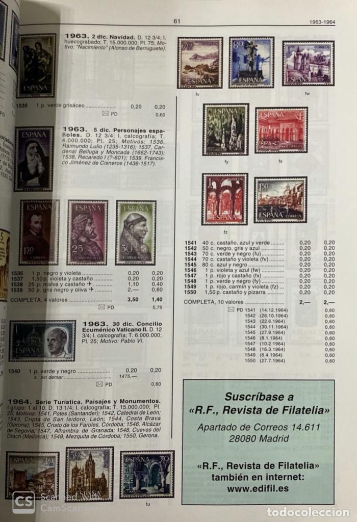 Sellos: CATÁLOGO UNIFICADO DE SELLOS. EDIFIL ESPAÑA 2008. MADRID, 2007. PAGS: 303 - Foto 5 - 191038143