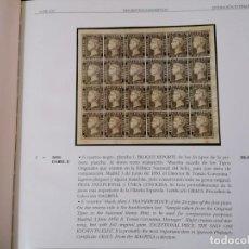Sellos: PRIMER SELLO POSTAL ESPAÑOL., LIBRO CATALOGO , NOVIEMBRE 1998. ( VER DESCRIPCION Y 18 FOTOS ). Lote 191483665