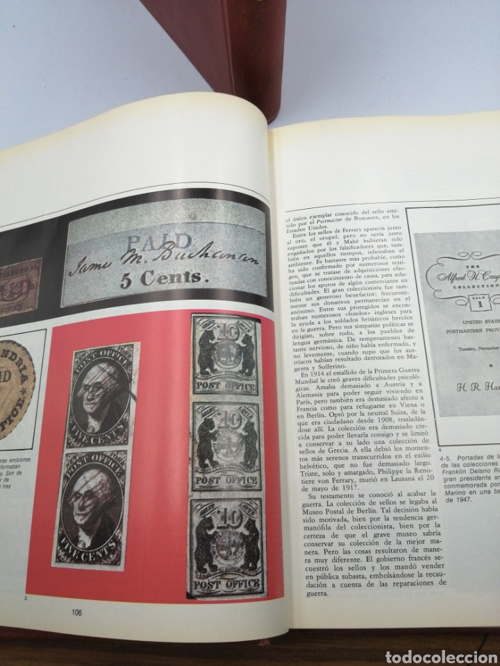 Sellos: Antigua enciclopedia del sello sarpe 1975 - Foto 4 - 191790727