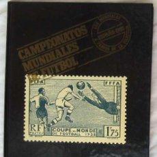 Selos: CAMPEONATOS MUNDIALES DE FUTBOL - LOS MUNDIALES A TRAVÉS DE LA FILATELIA - 1982 - VER INDICE Y FOTOS. Lote 192177082