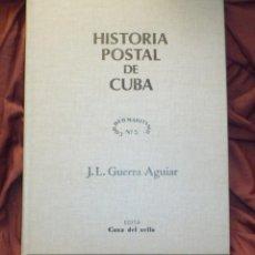 Sellos: HISTORIA POSTAL DE CUBA DE J. L. GUERRA AGUIAR. Lote 194118163