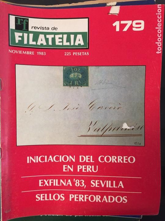 REVISTA DE FILATELIA - 179 - NOVIEMBRE 1983 (Filatelia - Sellos - Catálogos y Libros)