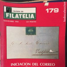 Sellos: REVISTA DE FILATELIA - 179 - NOVIEMBRE 1983. Lote 194202085