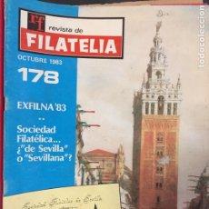 Sellos: REVISTA DE FILATELIA - 178 - OCTUBRE 1983. Lote 194202161
