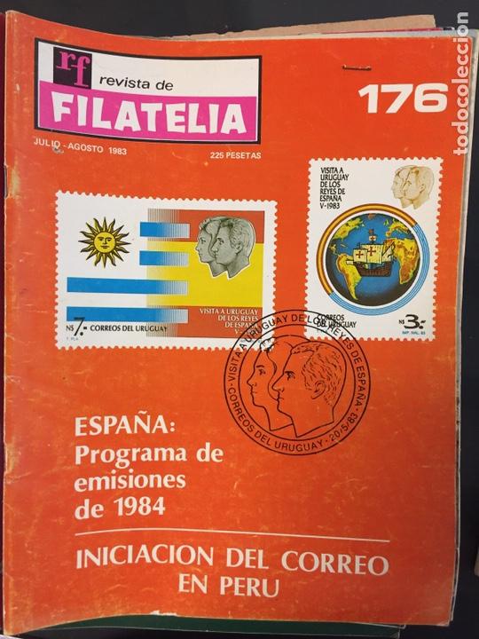 REVISTA DE FILATELIA - 176 - JULIO Y AGOSTO 1983 (Filatelia - Sellos - Catálogos y Libros)