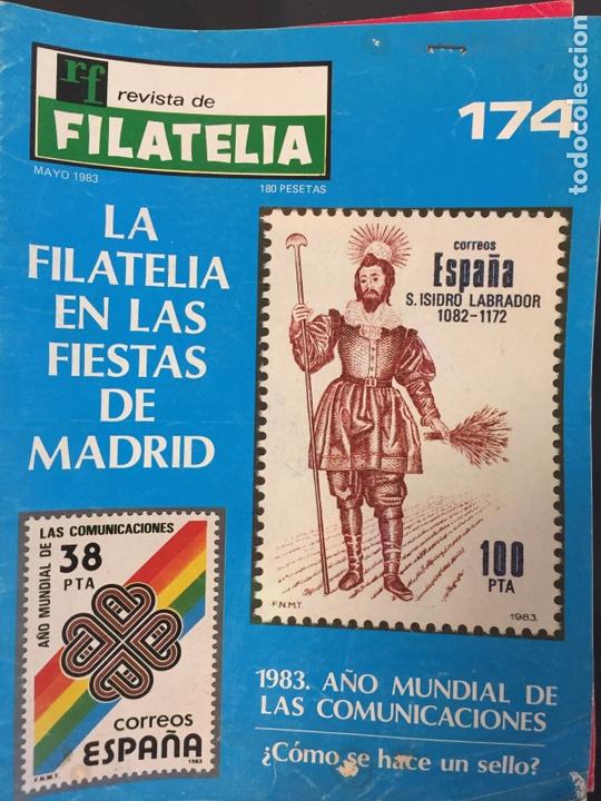 REVISTA DE FILATELIA - 174 - MAYO 1983 (Filatelia - Sellos - Catálogos y Libros)