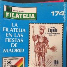 Sellos: REVISTA DE FILATELIA - 174 - MAYO 1983. Lote 194202357