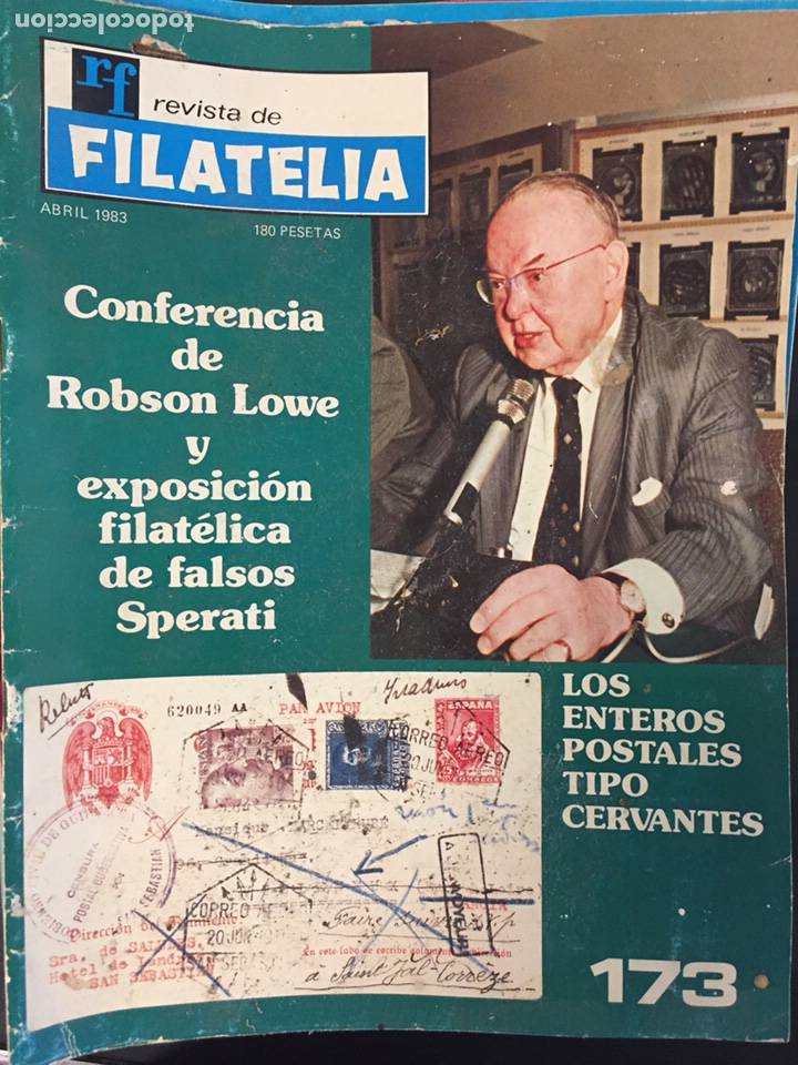 REVISTA DE FILATELIA - 173 - ABRIL 1983 (Filatelia - Sellos - Catálogos y Libros)